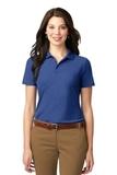 Women's Stain-resistant Polo Shirt Royal Thumbnail