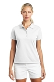Women's Nike Golf Shirt Tech Basic Dri-FIT Polo White Thumbnail