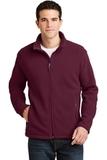 Value Fleece Jacket Maroon Thumbnail