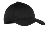 Youth 6-panel Twill Cap Black Thumbnail