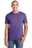 Softstyle Ring Spun Cotton T-shirt Heather Purple Thumbnail