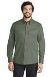 Eddie Bauer Long Sleeve Fishing Shirt Seagrass Green Thumbnail