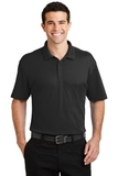 Silk Touch Interlock Performance Polo Black Thumbnail