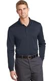 Select Snag-Proof Long Sleeve Polo Dark Navy Thumbnail