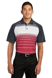 Dry Zone Sublimated Stripe Polo True Red Thumbnail