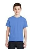 Youth Ultra Blend 50/50 Cotton / Poly T-shirt Carolina Blue Thumbnail
