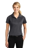 Women's Micropique Moisture Wicking Polo Shirt Iron Grey Thumbnail