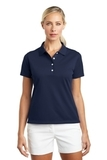 Women's Nike Golf Shirt Tech Basic Dri-FIT Polo Midnight Navy Thumbnail