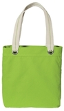 Allie Tote Shock Lime with Chocolate Thumbnail
