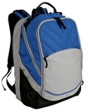 Xcape Computer Backpack Royal with Grey and Black Thumbnail