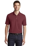 Dry Zone UV MicroMesh Polo Burgundy Thumbnail