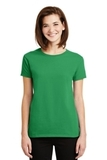 Women's Ultra Cotton 100 Cotton T-shirt Irish Green Thumbnail
