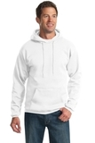 Pullover Hooded Sweatshirt White Thumbnail