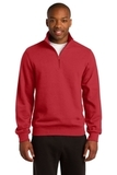 1/4-zip Sweatshirt True Red Thumbnail