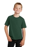 Youth Fan Favorite Tee Forest Green Thumbnail