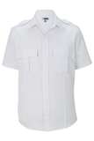 Class A 100 Polyester Short Sleeve Shirt White Thumbnail