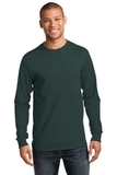 Essential Long Sleeve T-shirt Dark Green Thumbnail