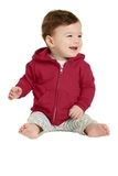 Infant Full-zip Hooded Sweatshirt Red Thumbnail