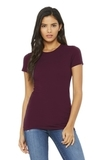 BELLACANVAS Women's The Favorite Tee Maroon Thumbnail