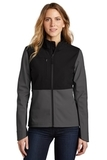 Ladies Castle Rock Soft Shell Jacket Asphalt Grey Thumbnail