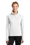 Women's Stretch 1/2-zip Pullover White Thumbnail