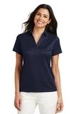 Women's Performance Fine Jacquard Polo Shirt True Navy Thumbnail