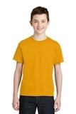 Youth Ultra Blend 50/50 Cotton / Poly T-shirt Gold Thumbnail