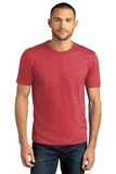 District Perfect Tri DTG Tee Red Frost Thumbnail