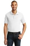 6.5-Ounce 100 Double Pique Cotton Sport Shirt White Thumbnail