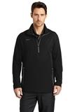 Nike Golf 1/2-zip Wind Shirt Black with Dark Grey Thumbnail