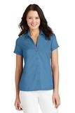 Women's Textured Camp Shirt Celadon Thumbnail