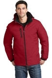 Vortex Waterproof 3-in-1 Jacket Rich Red with Black Thumbnail