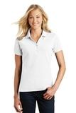 Women's Eddie Bauer Cotton Pique Polo White Thumbnail