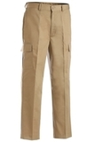 Men's Flat Front Cargo Pant Tan Thumbnail