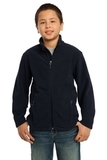 Youth Value Fleece Jacket True Navy Thumbnail