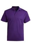 Men's Dry-mesh Hi-performance Polo Purple Thumbnail