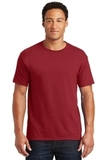 50/50 Cotton / Poly T-shirt Crimson Thumbnail