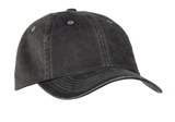 Garment-washed Cap Black Thumbnail