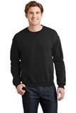 Heavy Blend Crewneck Sweatshirt Black Thumbnail