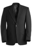 Men's Poly / Wool Suit Coat Black Thumbnail