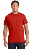 Ultra Blend 50/50 Cotton / Poly T-shirt Red Thumbnail