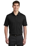 Nike Golf Dri-FIT Hex Textured Polo Black Thumbnail
