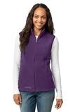 Women's Eddie Bauer Fleece Vest Blackberry Thumbnail