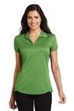 Women's Trace Heather Polo Shirt Vine Green Heather Thumbnail