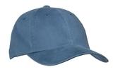 Garment-washed Cap Steel Blue Thumbnail