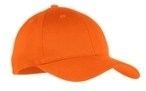 Youth 6-panel Twill Cap Orange Thumbnail