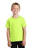 Youth 5.5-oz 100 Cotton T-shirt Neon Yellow Thumbnail