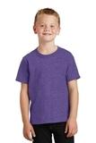 Youth 5.5-oz 100 Cotton T-shirt Heather Purple Thumbnail