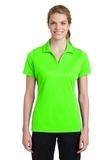Women's Sport-Tek PosiCharge RacerMesh Polo Neon Green Thumbnail