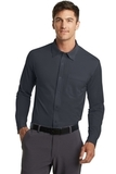 Port Authority Dimension Knit Dress Shirt Battleship Grey Thumbnail